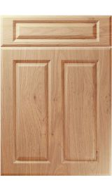 unique benwick light winchester oak kitchen door