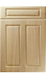 unique benwick lissa oak kitchen door