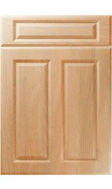 unique benwick montana oak kitchen door