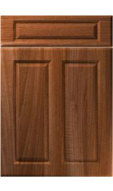 unique benwick opera walnut kitchen door