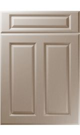 unique benwick painted oak stone grey kitchen door