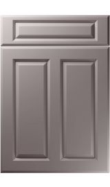 unique benwick super matt dust grey kitchen door