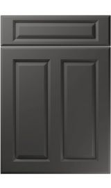 unique benwick super matt graphite kitchen door