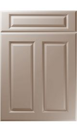 unique benwick super matt stone grey kitchen door