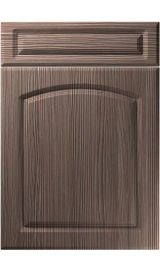 unique boston brown grey avola kitchen door