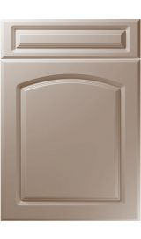 unique boston super matt stone grey kitchen door