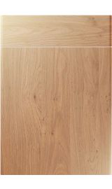unique brecon light winchester oak kitchen door