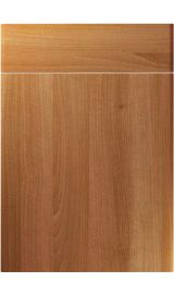 unique brecon natural aida walnut kitchen door