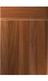 unique brecon opera walnut kitchen door