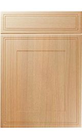 unique bridgewater light ferrara oak kitchen door
