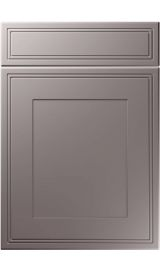 unique bridgewater super matt dust grey kitchen door