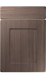 unique brockworth brown grey avola kitchen door