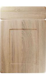 unique brockworth sonoma oak kitchen door