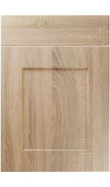 unique caraway sonoma oak kitchen door