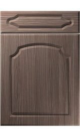 unique chedburgh brown grey avola kitchen door