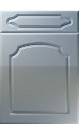 unique chedburgh high gloss denim kitchen door