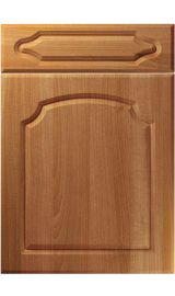 unique chedburgh natural aida walnut kitchen door