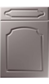 unique chedburgh super matt dust grey kitchen door