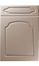 unique chedburgh super matt stone grey kitchen door