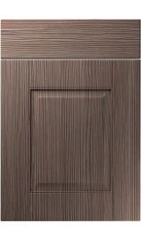 unique coniston brown grey avola kitchen door
