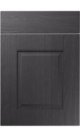 unique coniston painted oak graphite kitchen door