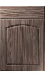 unique cottage brown grey avola kitchen door