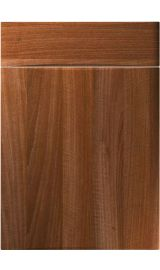 unique crossland opera walnut kitchen door