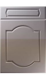 unique denham high gloss dust grey kitchen door