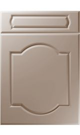 unique denham super matt stone grey kitchen door