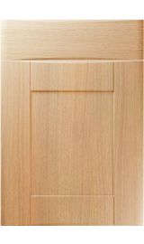 unique denver light ferrara oak kitchen door