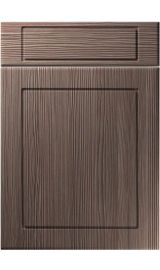 unique esquire brown grey avola kitchen door