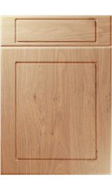 unique esquire light winchester oak kitchen door