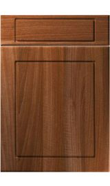 unique esquire opera walnut kitchen door