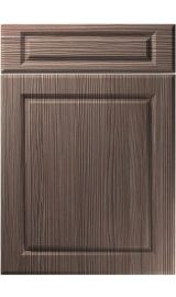 unique fenwick brown grey avola kitchen door