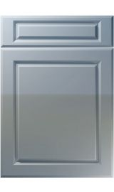 unique fenwick high gloss denim kitchen door