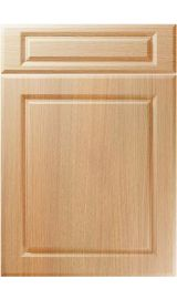unique fenwick light ferrara oak kitchen door