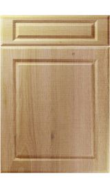 unique fenwick odessa oak kitchen door