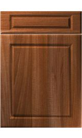 unique fenwick opera walnut kitchen door