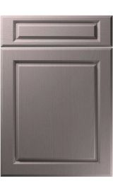 unique fenwick painted oak dust grey kitchen door