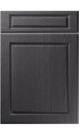 unique fenwick painted oak graphite kitchen door