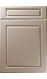 unique fenwick painted oak stone grey kitchen door