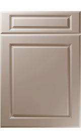 unique fenwick super matt stone grey kitchen door