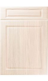 unique fenwick white avola kitchen door