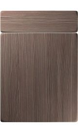 unique genoa brown grey avola kitchen door