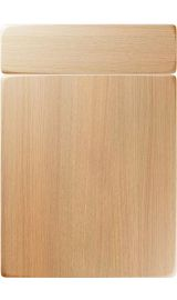 unique genoa light ferrara oak kitchen door