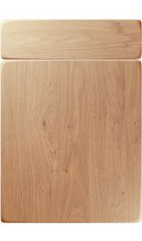 unique genoa light winchester oak kitchen door