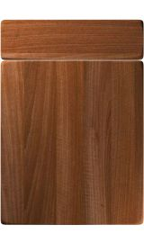 unique genoa opera walnut kitchen door