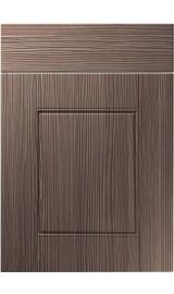 unique henlow brown grey avola kitchen door