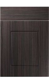 unique henlow hacienda black kitchen door