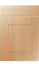 unique henlow light ferrara oak kitchen door